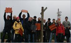 Producent dachówek - Braas Polska - dziennikarze zdobywają polskie szczyty
